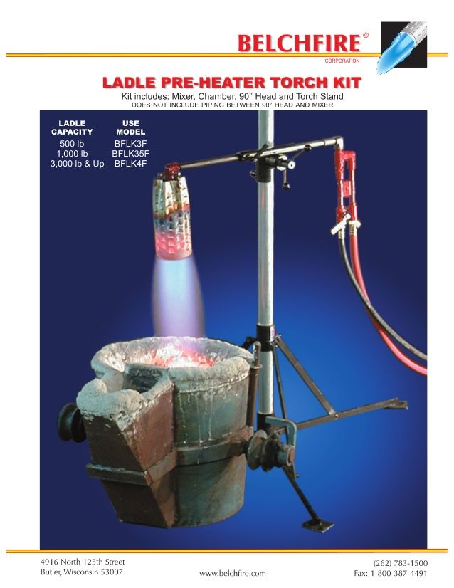 Ladle Heating Torch
