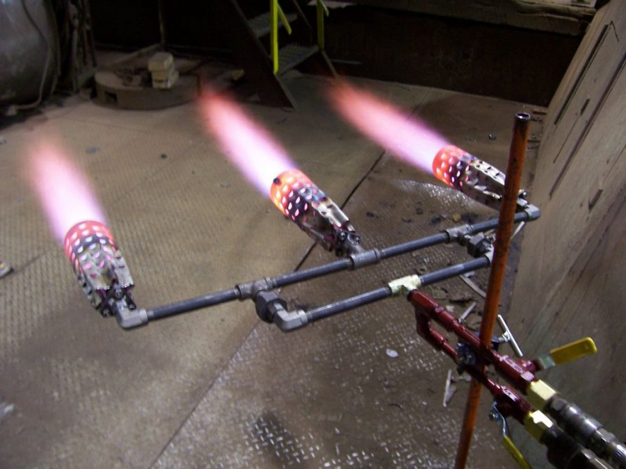 Natural Gas Heating Torches